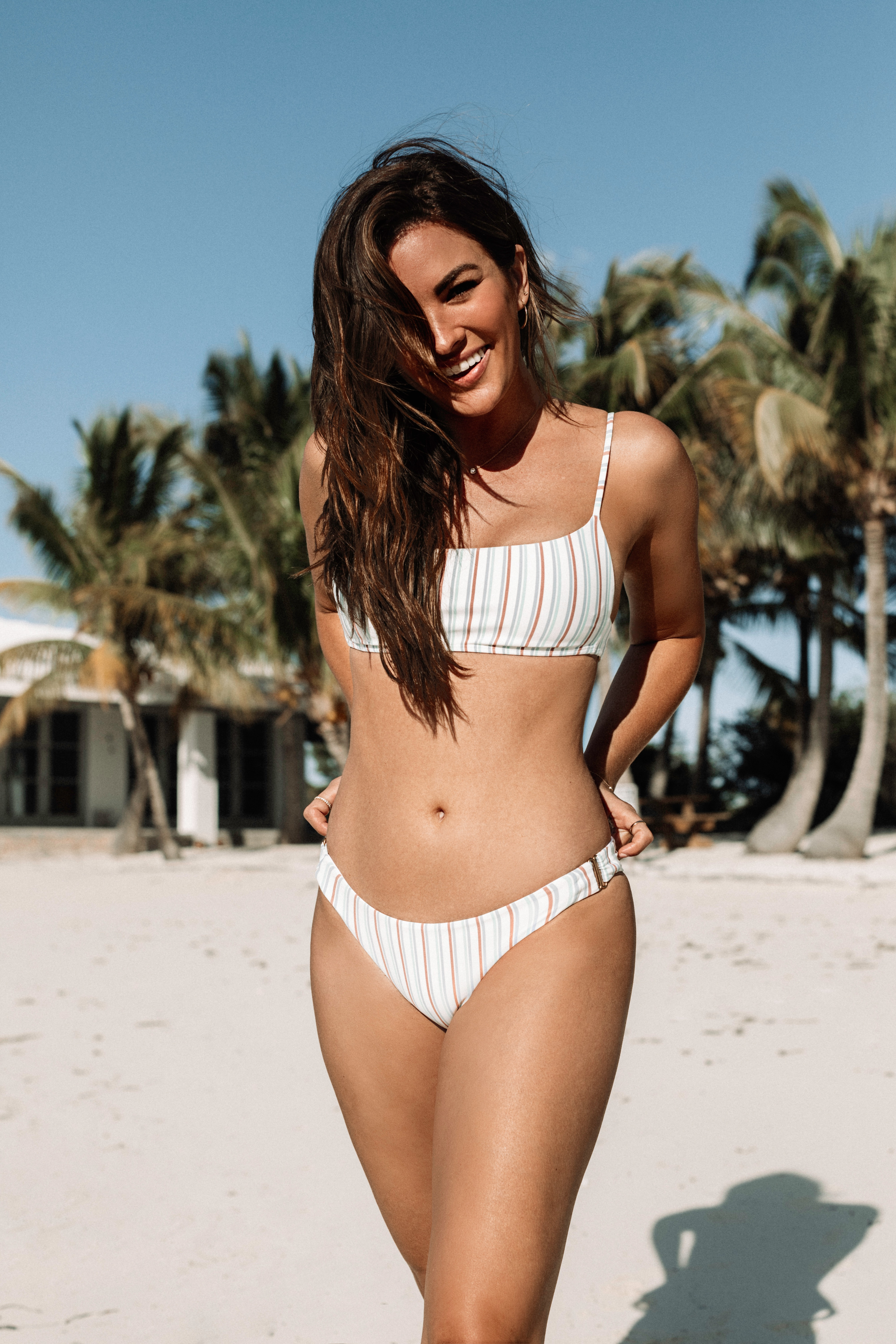 56d5fe523c3 For all my high waisted lovers, the Diego Top and Frieda bottom are your go  to set! I love how this set mirrors the pattern of the Piper and Rosemary  duo, ...